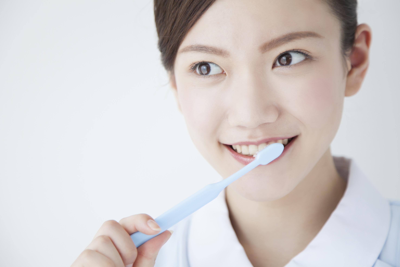 歯磨き指導もしています。